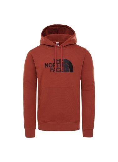 The North Face Drew Peak Pullover Hoodie Erkek Sweatshirt Kırmızı Bordo